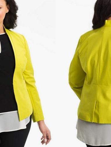 Kenneth Cole Plus Size Tuxedo Jacket