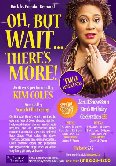 Kim Coles One Woman Show- Wait There's More