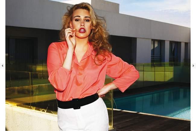 French Plus Size Designer Jean Marc Phillipe Spring 2013 Look Book