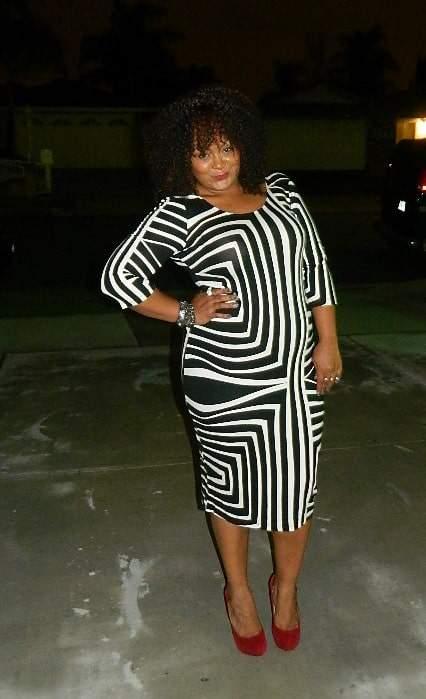 OOTD- ASOS Curve Graphic Print Dress