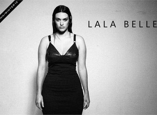 Plus size Australian designer LALA Belle Fall 2013 Look Book