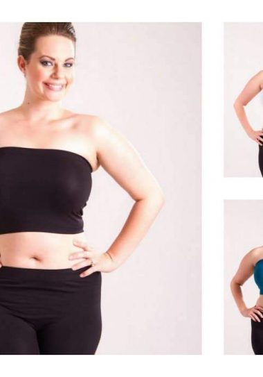 Plus Size Tube Top at Lucy Clothing