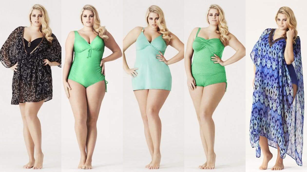 Evans Plus Size Swimwear
