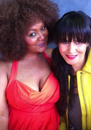 Marie Denee and Taye Hansberry