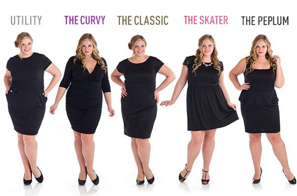 Penny Chic for Wal-Mart Plus Size LBD