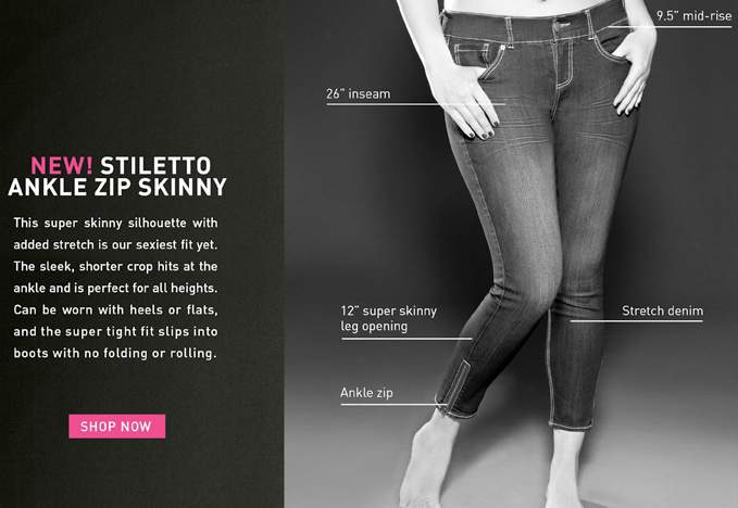 The Plus Size Stiletto Jean from Torrid