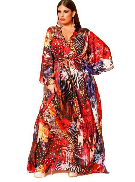 Monif C Plus Sizes nala Dress