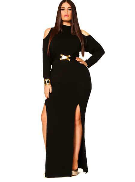 Monif C Plus Sizes eva Dress