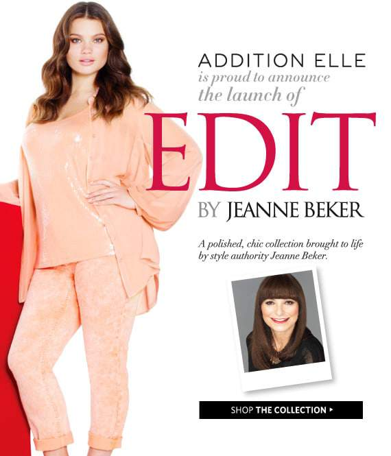 EDIT by Jeanne-Beker for Addition Elle