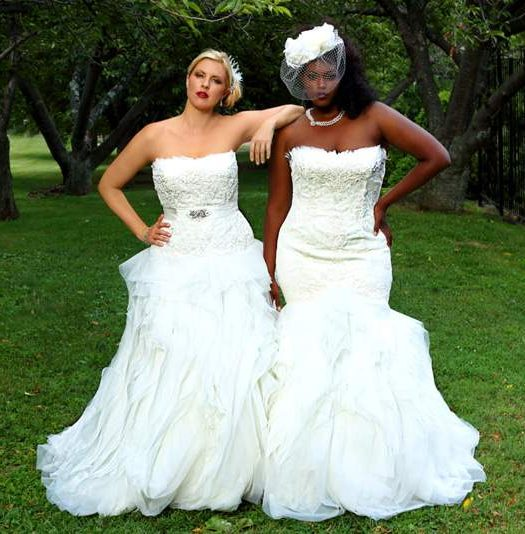 Curvy Girls Bridal