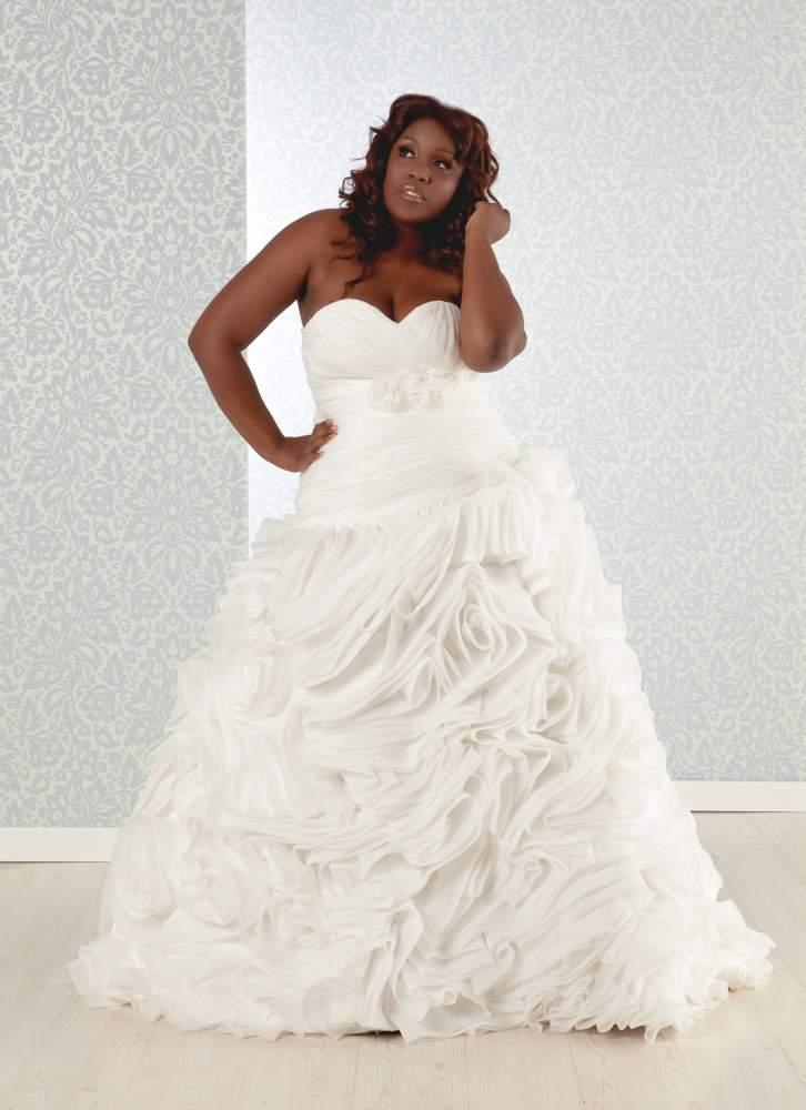 Real Size Bride Priscilla Dress