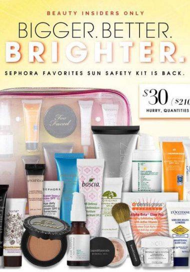 Beauty Beat: Sephora's 2013 7th Edition Sun Safety Kit