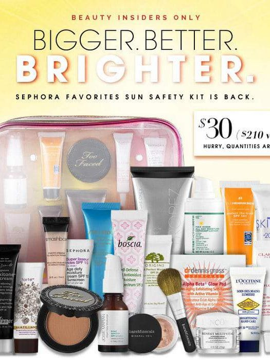 Beauty Beat: Sephora's 2013 7th Edition Sun Safety Kit