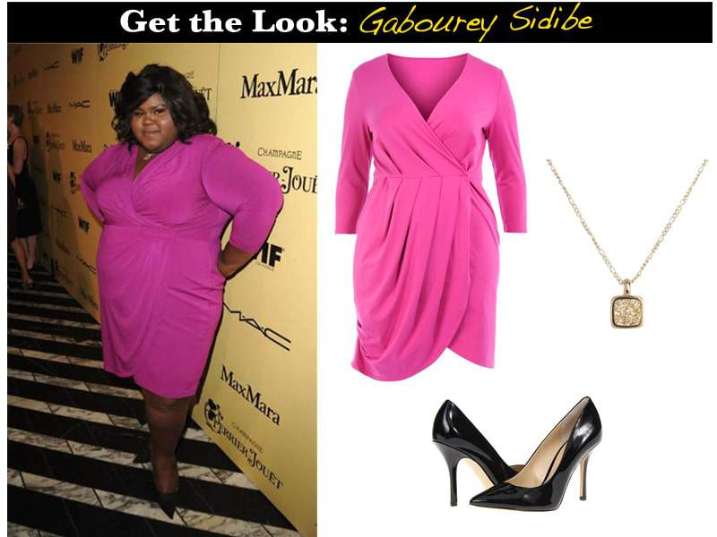 GetTheLook-Gabourey Sidebe, plus size celebrity