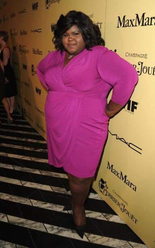 Plus size actress- Gabourey SIdibe