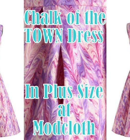 Shop My Look: FFFWeek Curves for a Cure Fashion Show ModCloth Dress
