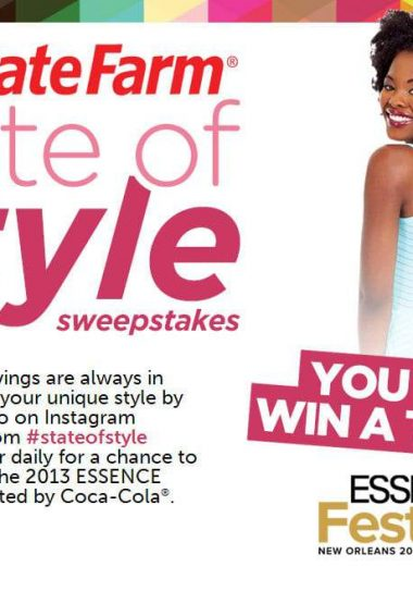 Statefarm Essence Music State of Style Contest