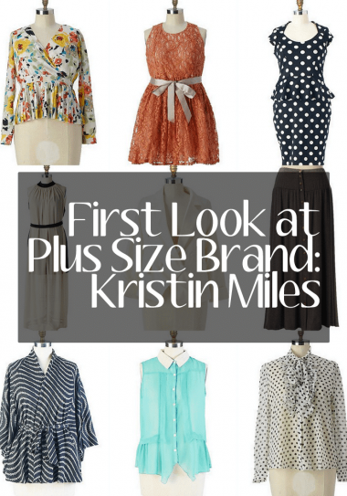 When Plus Size Brand Missphit has Grown Up, We Meet Kristin Miles