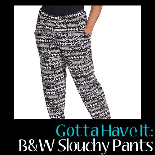 Plus Moda Slouchy Pants