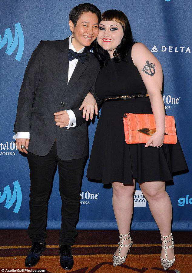 Beth Ditto and her Partner