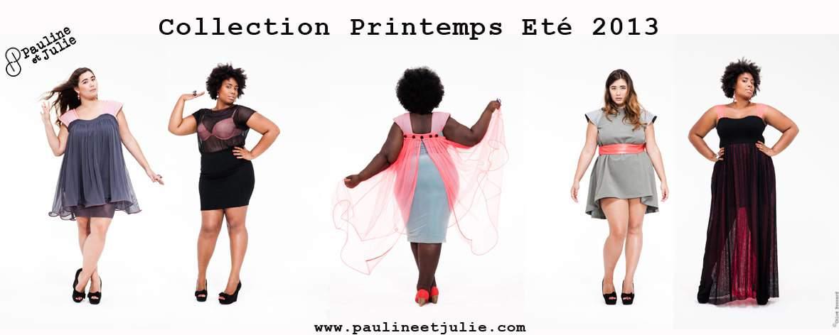 Pauline et Julie French Plus Size Collection