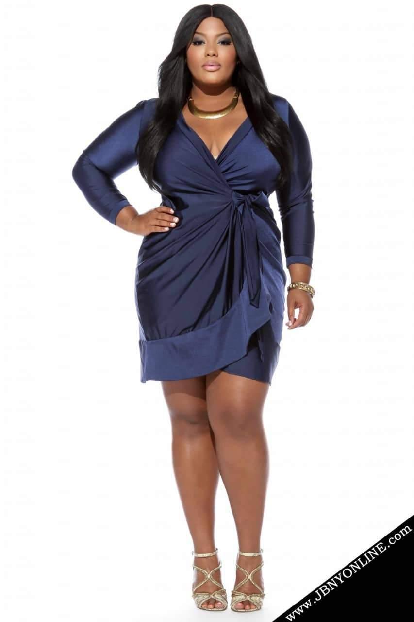 Joanne Borgella Plus Size Dress Collection- The Seduction Dress