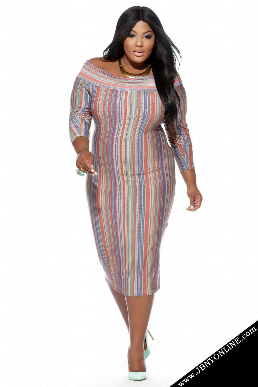 Joanne Borgella Plus Size Dress Collection- The Candy Dress