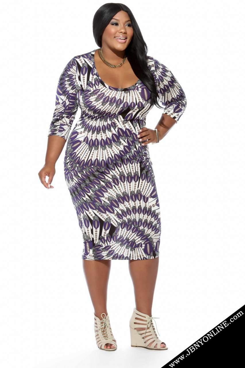 Joanne Borgella Plus Size Dress Collection- The Mary Jane Dress
