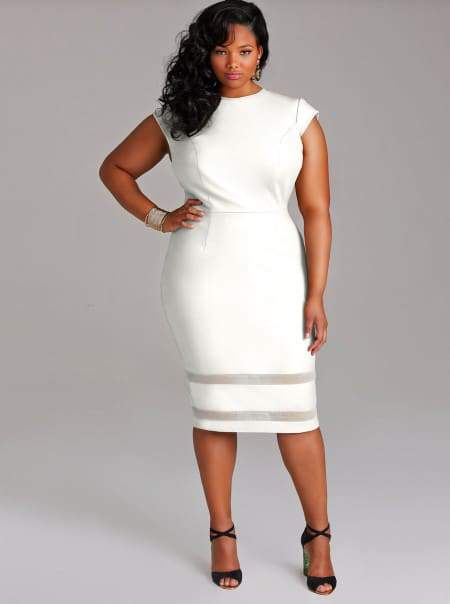 Monif C Kendal Dress in White