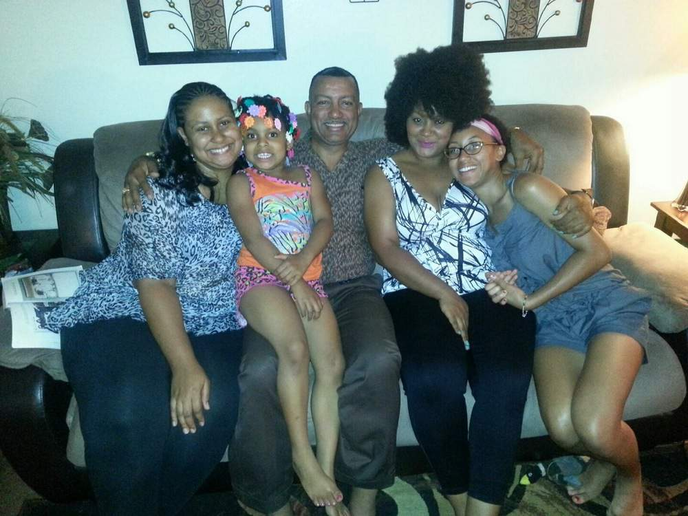 Meeting my father and his/my family