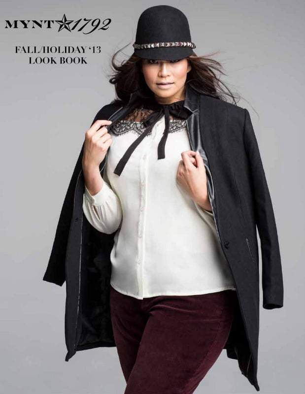 Mynt 1792 Plus Size Jeans Fall 2013 Look Book