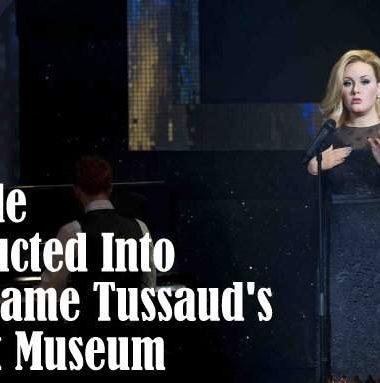 Adele Madame Tussauds Waxwork