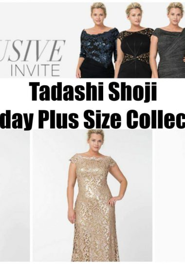 Tadashi Shoji 2013 Plus Size Holiday Collection