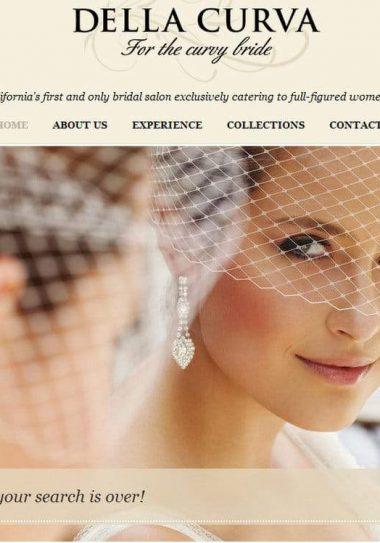 Southern California Plus Size Bridal Salon- Della Curva