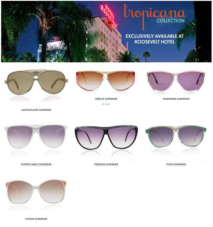 Tropicana Collection by Ivory+Mason