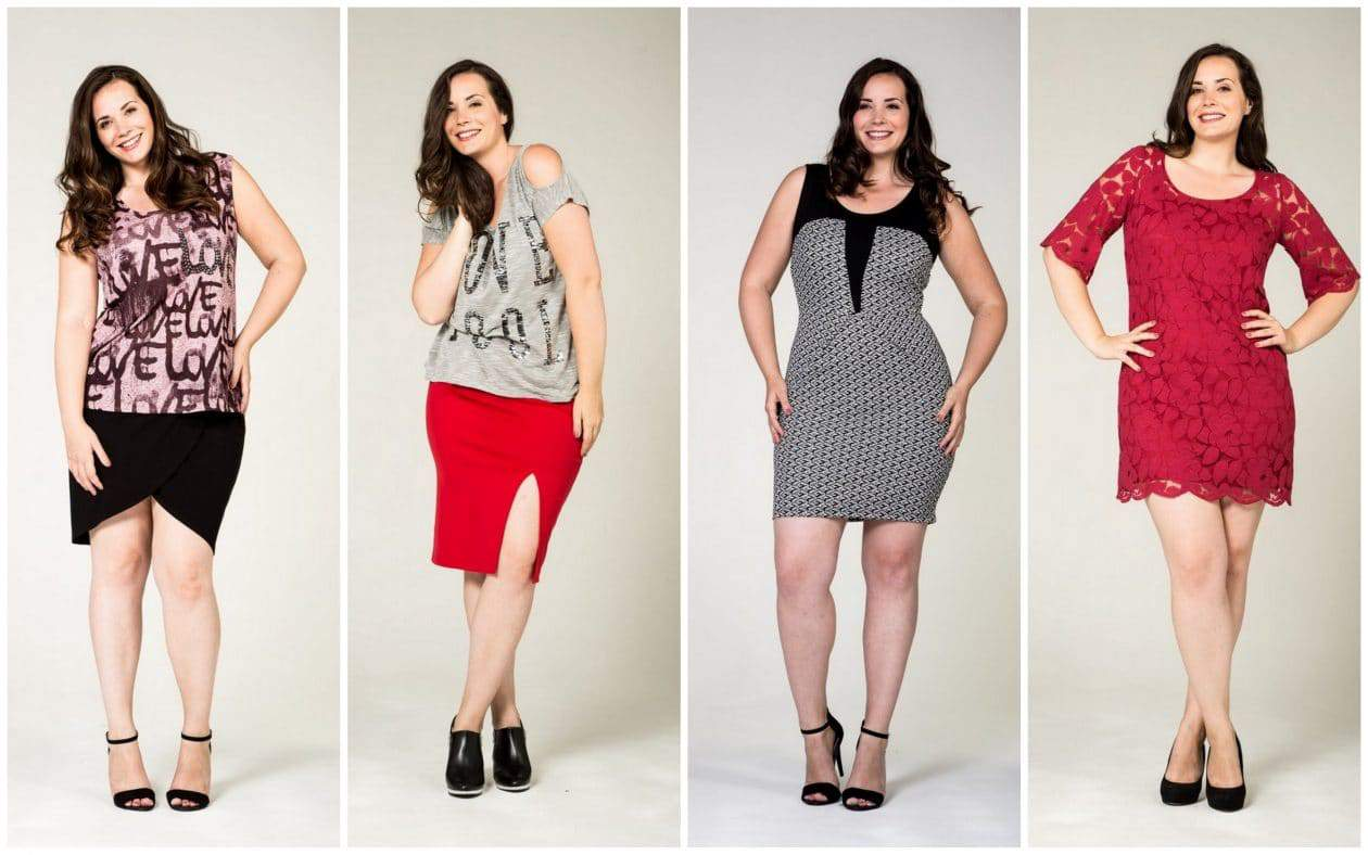 Plus Size designer- Pink CLove