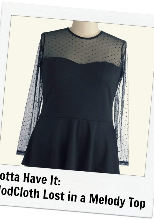 Modcloth Lost in a Melody Top
