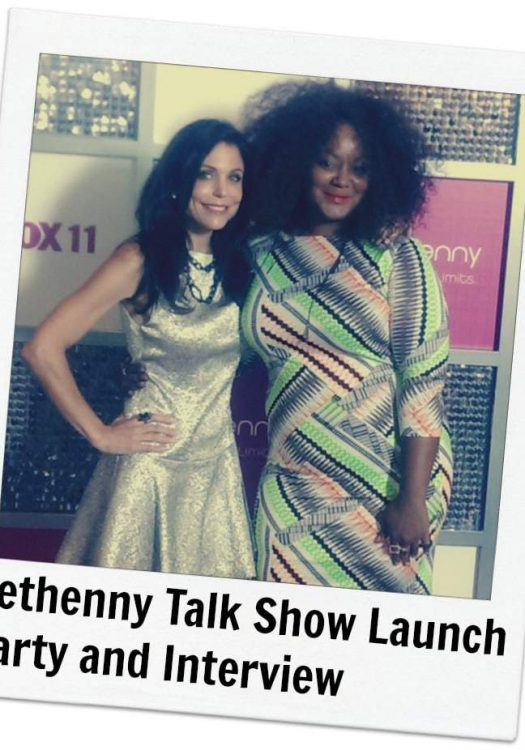 Bethenny TV Talk Show Launch Party and Interview