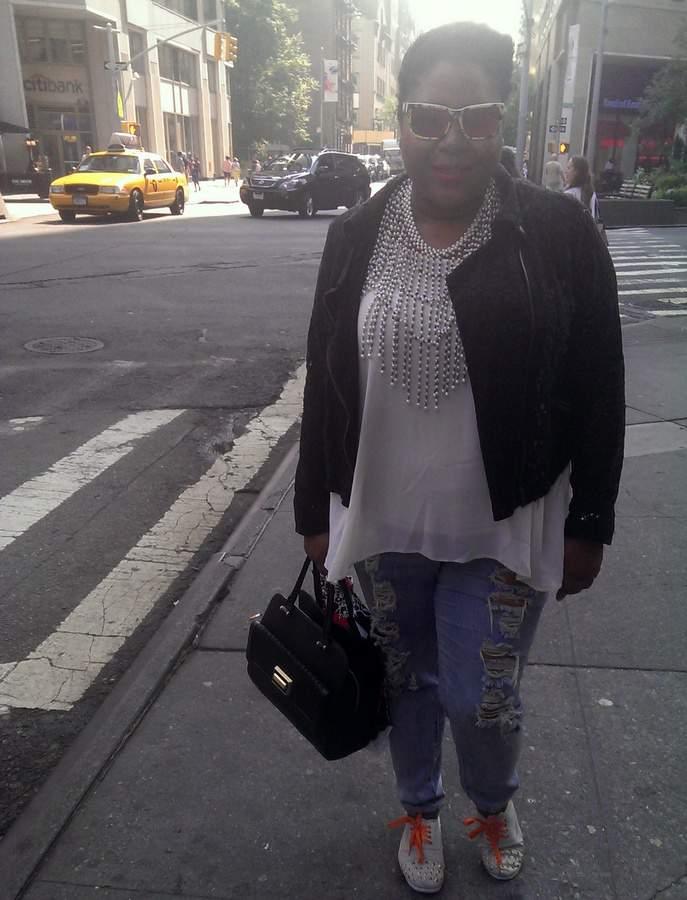 NYFW Plus Size Street Style