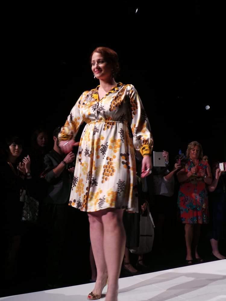 First Plus SIze Designer at Mercedes Benz Fashion Week- Cabiria