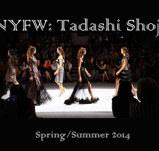 NYFW: Tadashi Shoji Spring/Summer 2014 Collection