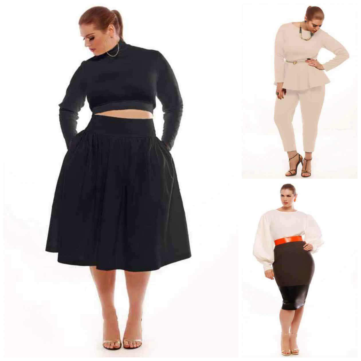 My favorites from Jibri Plus Size Fall 2013 Collection