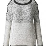 Cut Out Shoulder Plus Size Sweater  from Simply Be