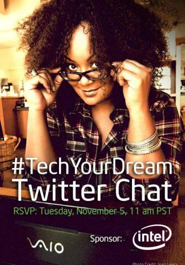 @IntelUSA #TechYourDream Twitter Chat
