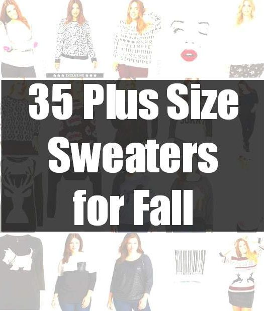 35 Plus Size Sweaters for fall