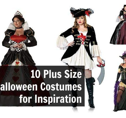 Ten plus size halloween costumes