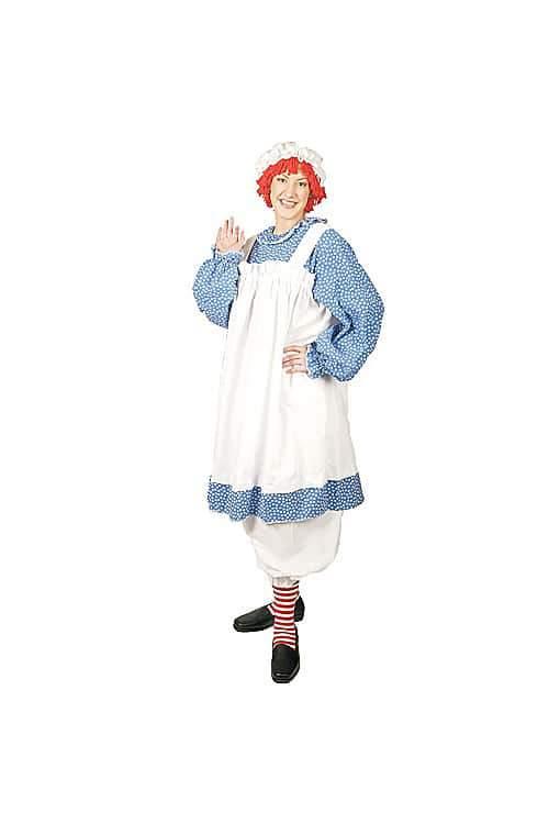 Raggedy Ann Plus Size Costume