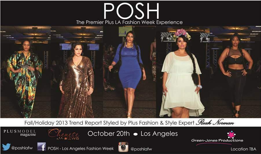 POSH Fashion Week Los Angeles Plus Size fashion SHow