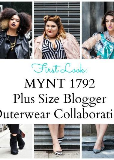 MYNT 1792Plus SIze Blogger collaboration