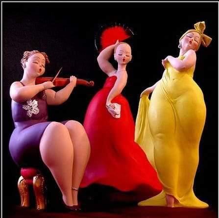 Plus Size Sculptures from Emilio Casarotto